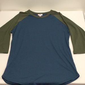 LulaRoe Blue shirt